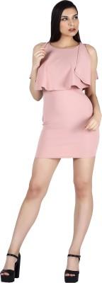 Engross Women Blouson Pink Dress