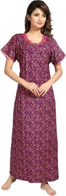 AV2 Women Nighty(Purple)
