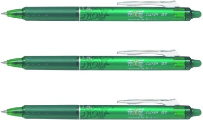 Pilot Frixion Clicker Roller Ball Pen(Pack of 3)  available at flipkart for Rs.300