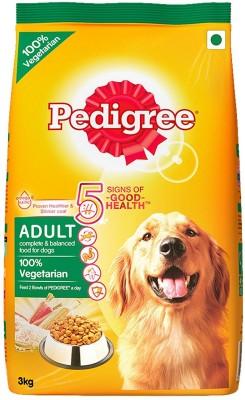 Pedigree Adult 100% Vegetable Dry Dog Food