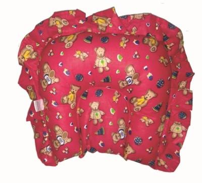 Little Monster Printed Feeding/Nursing Pillow Pack of 1(Red)