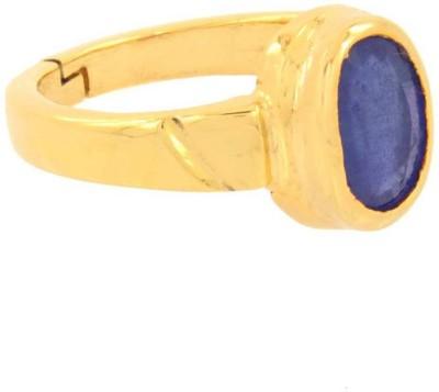 Jaipur Gemstone 7 Carat bello Metal Sapphire Ring
