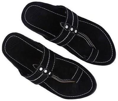 RYAG Men Black Flats