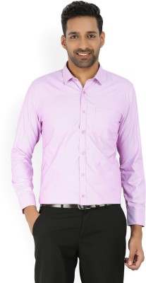 John Miller Men's Woven Formal Spread Shirt