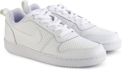 Nike COURT BOROUGH LOW Sneakers For Men(White) 1