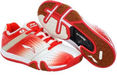 huge discount 8fc4c 697f7 26% OFF on Li-Ning Hero No.1 Ltd. Edition Badminton Shoes For Men(White,  Red) on Flipkart   PaisaWapas.com