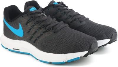 Nike RUN SWIFT Running Shoes For Men(Black) 1