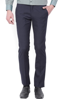 John Miller Regular Fit Men's Blue Trousers