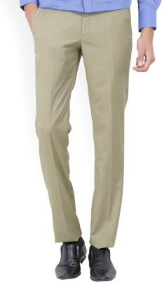 John Miller Regular Fit Men's Beige Trousers
