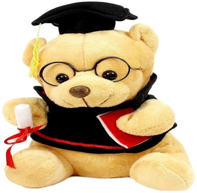 Reyansh Collection Graduate Stuffed Teddy Bear for Kids Birthday Gift  - 20 mm(Brown) at flipkart