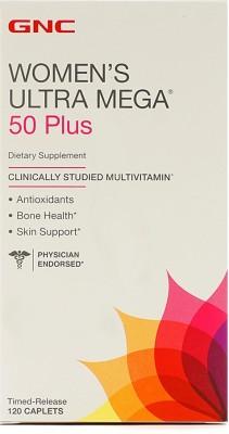 15% OFF on GNC Women s Ultra Mega 50 Plus For Skin   Bone Support(120 No)  on Flipkart  42de7506a