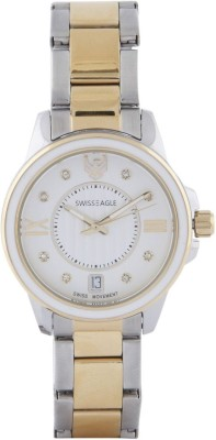 Swiss Eagle SE-9120-55  Analog Watch For Women
