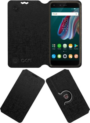 ACM Flip Cover for Motorola Moto G Plus 4th Gen G4(Black, Cases with Holder, Artificial Leather)
