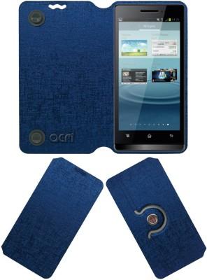 ACM Flip Cover for Karbonn Smart A7 Star(Blue, Cases with Holder)