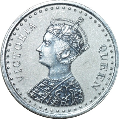 Kataria Jewellers Victoria Queen S 999 50 g Silver Coin Kataria Jewellers Coins   Bars