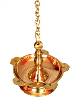 E-Handicrafts Brass Hanging Diya(Height: 25 inch)  available at flipkart for Rs.799