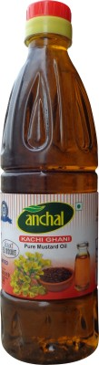 Anchal Kachi Ghani Pure Mustard Oil 1 L  available at flipkart for Rs.108