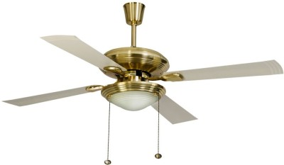 Usha fontana one 4 Blade Ceiling Fan(gold with ivory blades)  available at flipkart for Rs.6549