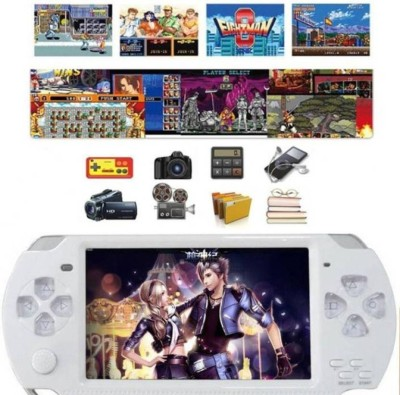 GLOWISH GL2017(1000) PB 4GB with 10000 GAMES MP3/MP4 CAMERA 4 with CAR RACING,SHOOTING, ACTION GAMES ,ARCADE,SHOOTING ,WRESTLING,SPORTS(Multicolor)
