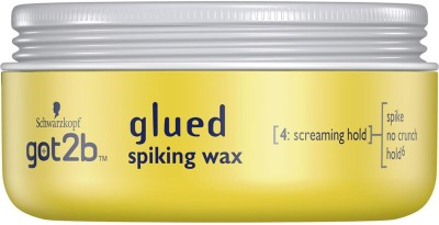 Schwarzkopf Got2b Glued Spiking Wax For Screaming Hold - 75ml Wax(75 ml)