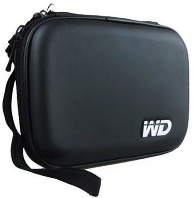 PI World Hard Drive Pouch 2.5 inch External Hard Drive Cover 2.5 inch External Hard Drive Case cover pouch(For All type of 2.5 inch external hard drive, WD, Samsung, Dell, Transcend, HP, Seagate, Black)
