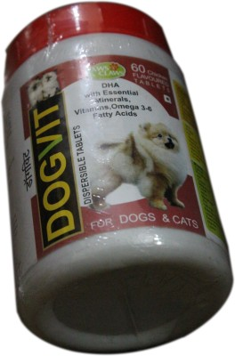 paws&claws Vitamin Supplement Tablet(60 tablets)  available at flipkart for Rs.200