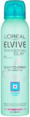 Loreal Elvive Extraordinary Clay To Spray Dry Shampoo, 150 ML