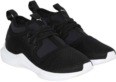 Puma Phenom Low Satin EP Wn s Training & Gym Shoes For Women(Black)  available at flipkart for Rs.6999