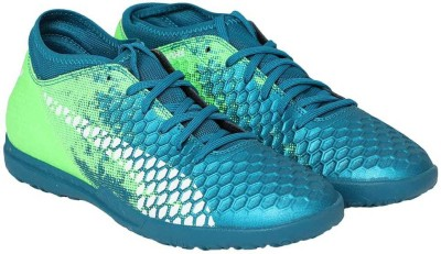 brand new 9d2dc a4705 31% OFF on Puma FUTURE 18.4 TT Football Shoes For Men(Blue) on Flipkart    PaisaWapas.com