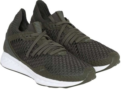 Puma IGNITE NETFIT Running Shoes For Men(Olive)