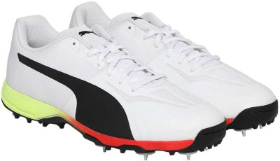 Buy Puma evoSPEED 18.1 cricket Spike Cricket Shoes For Men(White) on  Flipkart  e43c8e1f1