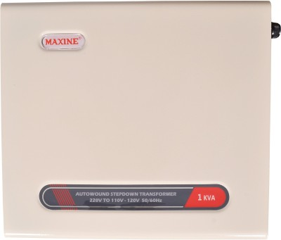 Maxine 1kva MAXINE Advanced 1000watts Voltage Converter 220 V To 110 V Step Down Transformer USA Products(White)