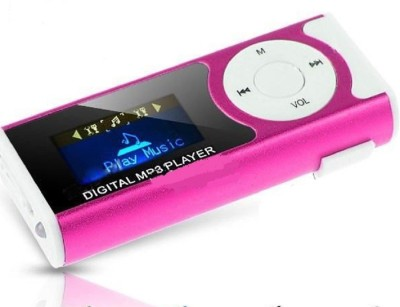 CRETO latest digital mp3 player supports upto 16  gb external memory card MP3 Player Multicolor, 1.2 Display CRETO Media Players