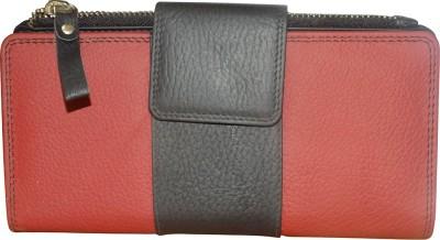 Style 98 Valentine Day Gift 8 Card Holder(Set of 1, Black, Red)