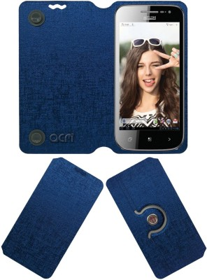ACM Flip Cover for Mitashi Ap101(Blue, Cases with Holder)
