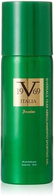 Italia Vesrace V 19.69 Impulse 1 Deodorant Spray  -  For Men & Women(150 ml)