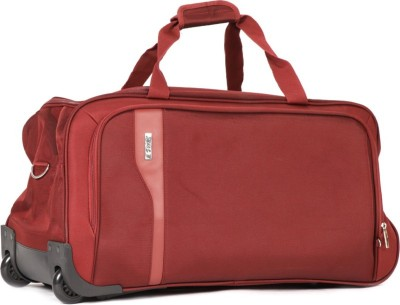 VIP Tuscany 2 Duffel Strolley Bag(Maroon)  available at flipkart for Rs.4655