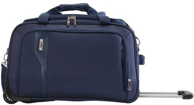 VIP Tuscany 2 Duffel Strolley Bag(Blue)  available at flipkart for Rs.4655