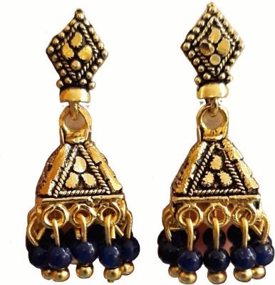 SONIKSHA JHUMKI EARRINGS Metal Jhumki Earring  available at flipkart for Rs.120