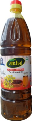 Anchal Kachi Ghani Pure Mustard Oil 500 ml  available at flipkart for Rs.68