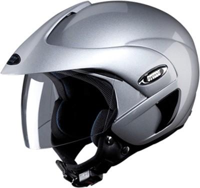 Studds MARSHAL(SILVERGREY) Motorbike Helmet(Grey)