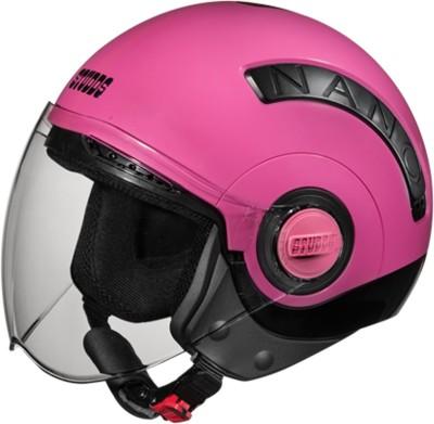 Studds NANO(BLACK/PINK) Motorbike Helmet(Pink)