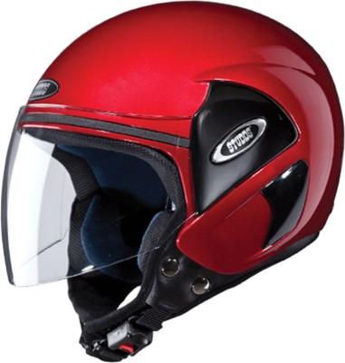 STUDDS CUB(CHERRYRED) Motorbike Helmet(Red)