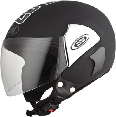 Studds CUB07(BLACK) Motorbike Helmet(Black)