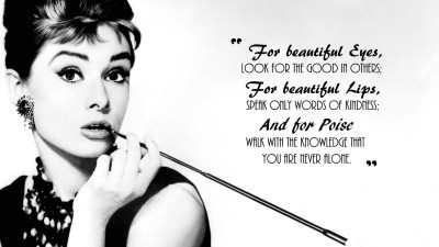 Audrey Hepburn Actresses HD Wall Poster Paper Print(17.99 inch X 12.07 inch, Rolled)  available at flipkart for Rs.199