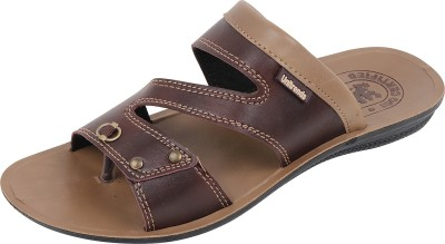 PU PEHCHAAN Men Brown Sandals  available at flipkart for Rs.189