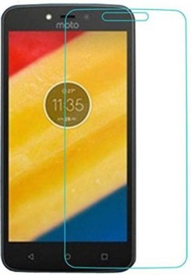 CHVTS Tempered Glass Guard for Motorola Moto C Plus(Pack of 1)