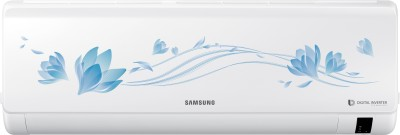 Samsung 1.5 Ton 3 Star BEE Rating 2018 Inverter AC  - White(AR18NV3HLTR, Alloy Condenser)