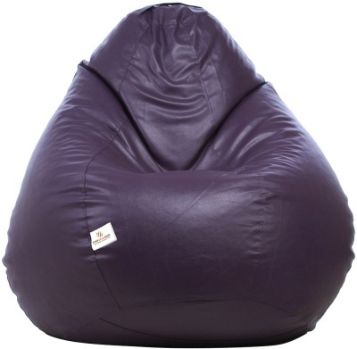 72f1520cde 75% OFF on Star XXL Bean Bag Cover (Without Beans)(Purple) on Flipkart