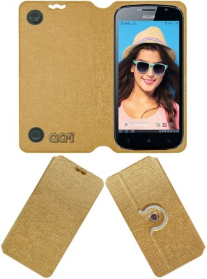 ACM Flip Cover for Lenovo X2-Ap(Classic Golden, Cases with Holder)